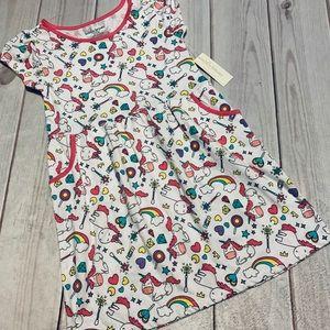 Cute Cotton Unicorn Dress